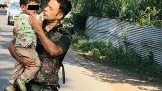 J&K Terror Attack: Inconsolable 3-year-old Rescued From Attack Site, Heartwrenching Picture, Video Surface