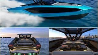 Lamborghini Unveils Supercar-Inspired Rs 25.6 Crore Luxury Yacht, Twitter Can't Stop Drooling | See Pics