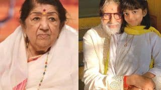 Lata Mangeshkar Expresses Concern For Aaradhya Bachchan, Sends Prayers For The Family After 4 Members Get COVID-19