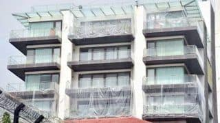 Shah Rukh Khan's Mannat Covered With Plastic Sheets Amid Mumbai Rains, Pictures Go Viral