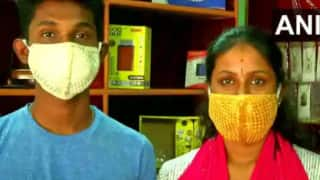Coimbatore Goldsmith Designs Rs 2.75 Lakh Face Mask With Gold And Silver Threads, See Pics