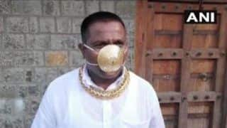 Gold Standard of COVID-19 Mask: Pune Man Makes Gold Mask Worth Rs 2.89 Lakh