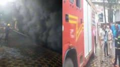 मुंबई में शॉपिंग मॉल में लगी भयंकर आग, 16 दमकल मशीनें बुझा रहीं आग