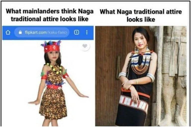 'Stop This Misrepresentation': Delhi Store Called Out for Selling Animal Print As    Tribal Nagaland Costume