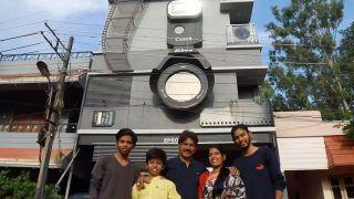 Karnataka Photographer Builds Camera-Shaped House 'Click', Names His Sons 'Canon, Epson & Nikon'
