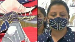 After Pune Man's Gold Face Mask, Diamond-Studded Ones Worth Rs 1,40,000 Grab Eyeballs in Surat Amid COVID-19