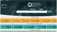 HRD मिनिस्ट्री ने तैयार किया  'नेशनल डिजिटल लाइब्रेरी', अब घर बैठे मिलेगी ऑडियो-वीडियो पाठ्य सामाग्री