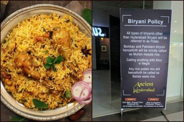 Biryani War: Twitterati Lock Horns as Pune Restaurant Hails Hyderabadi Biryani, Calls All The Others as 'Pulao'