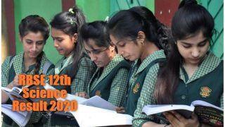 RBSE 12th Science Result 2020: राजस्थान बोर्ड आज शाम 4 बजे जारी करेगा 12वीं साइंस का रिजल्ट, यहां से देखें अपना मार्क्स