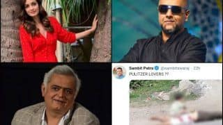 Dia Mirza-Vishal Dadlani-Hansal Mehta Call Out BJP Spokesperson Sambit Patra's Nasty Tweet Mocking Picture of Dead Kashmiri Citizen