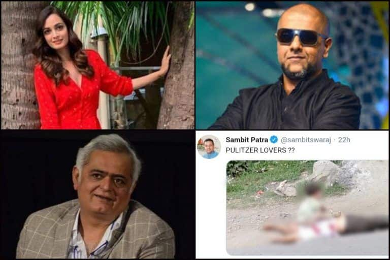 Dia Mirza-Vishal Dadlani-Hansal Mehta Call Out BJP Spokesperson Sambit Patra's Nasty Tweet Mocking Picture of Dead Kashmiri Citizen