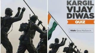 Kargil Vijay Diwas 2020: छात्रों के लिए शुरू हुई नेशनल लेवल Quiz, ऐसे करें आवेदन, जानिए क्या है इस प्रतियोगिता की खासियत