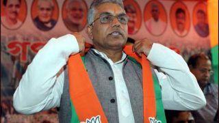Attacked On Dilip Ghosh's Convoy: बंगाल में तकरार, भाजपा प्रदेशाध्यक्ष दिलीप घोष के काफिले पर हमला, तृणमूल पर आरोप