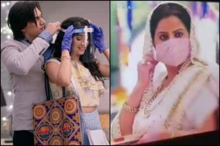 'Even COVID-19 Couldn't End it': Twitter Left in Splits After 'Yeh Rishta Kya Kehlata Hai' Actors Shoot Scene Wearing Face Masks