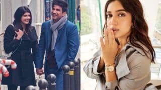 Weirdly Painful And Beautiful! Bhumi Pednekar 'Can't Stop Tearing up' as She Watches Sushant Singh Rajput's Dil Bechara