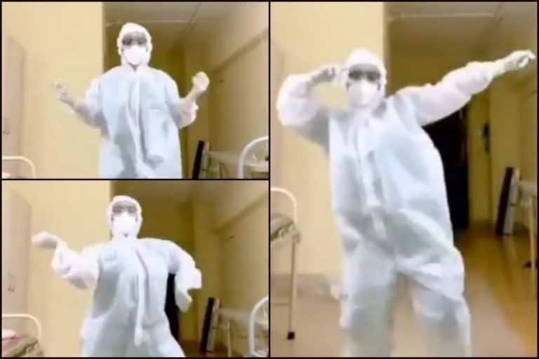 'Garmi' But Graceful: Doctor in PPE Suit Grooves to Nora Fatehi-Varun Dhawan's Song And we Are Smitten! WATCH