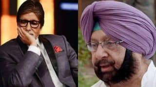अमिताभ बच्चन के कोरोनापॉजिटिवपाए जाने पर मुख्यमंत्री अमरिंदर सिंह ने कही ये बात, ऐसेभेजी दुआएं