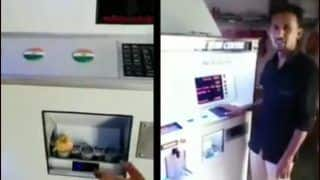 Pani Puri Vending Machine Viral: Dispensing Golgappe And Maintaining Hygiene Amid CoronaVirus is OG Innovation!