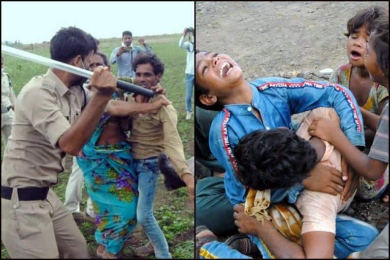 Dalit Lives Matter? Farmer-Wife Drink Pesticide After MP Police Destroy Crops, Children Crying Over Their Bodies Leave Twitter Heartbroken