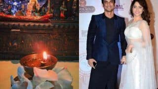 Sushant Singh Rajput One Month Death Anniversary: Ankita Lokhande Lights up Diya in Memory of The Late Actor