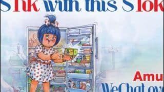 Amul India's Latest Creative Takes Jibe at TikTok-WeChat Ban in India, Netizens Call it 'Father of Memes'