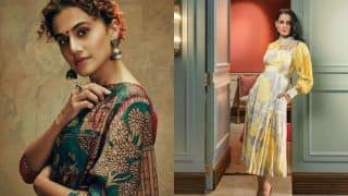 Kangana Ranaut Calls Out Taapsee Pannu For Supporting Movie Mafia Gang, Latter Hits Out at 'Bitter People'