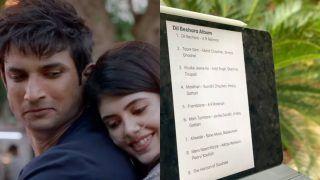 AR Rahman Teases With Sushant Singh Rajput's Dil Bechara Playlist And Fans Can't Keep Calm!