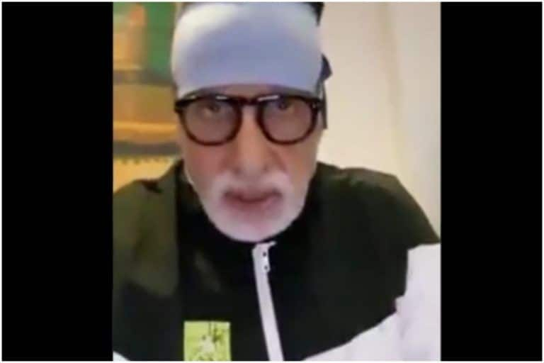 Fake News: Amitabh Bachchan DID NOT Record Video Thanking Doctors at Nanavati Hospital After Testing COVID-19 Positive