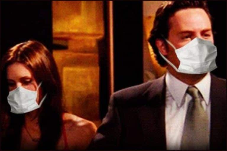 'Friends' of Safety: Mumbai Police Takes Help of Chandler Bing to Spread Awareness About Wearing Mask With Swag Amid COVID-19