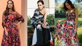 Know How to Pull Off Printed Outfits Stunningly Like Dia Mirza