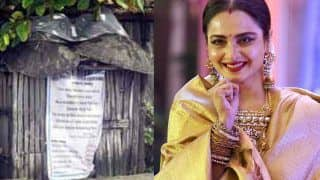 Rekha's Security Guard Tests Positive For COVID-19, BMC Puts up a Notice Outside Her Residence