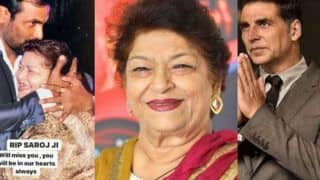 Saroj Khan Dies at 71: Farah Khan, Remo D'souza, Akshay Kumar, Taapsee Pannu And Other Celebs Mourn The Demise of Bollywood's Masterji
