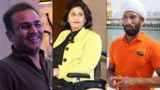Virender Sehwag, Sardar Singh And Deepa Malik in National Sports Awards Selection Panel