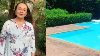 Alia Bhatt's Mother Soni Razdan Finds a Snake in Her Swimming Pool- Watch Videos