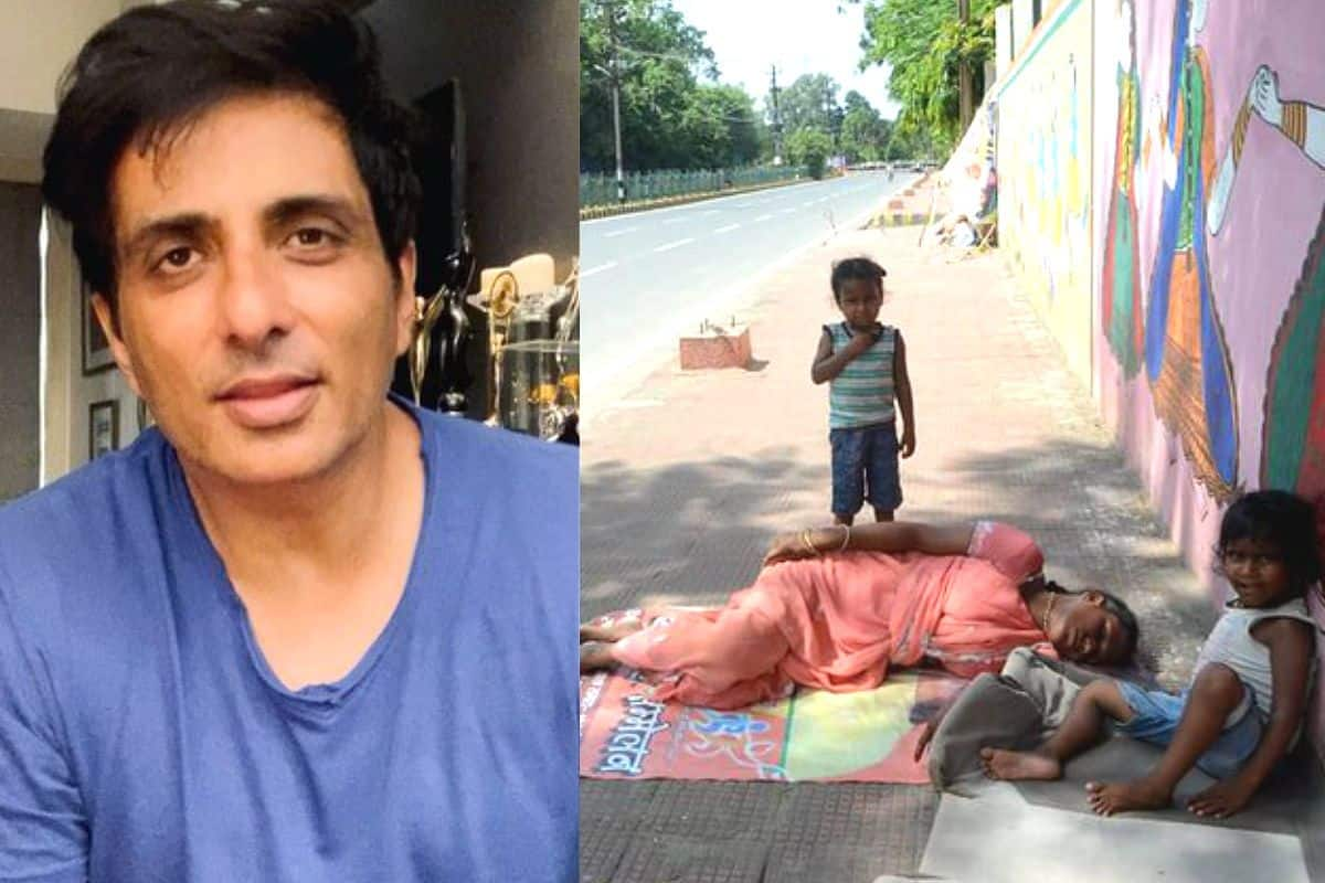 Sonu Sood to Help a Homeless Woman Forced to Live on Footpath With Her Two  Kids   India.com