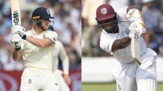 Eng v WI 1st Test: Burns, Denly Hold Fort on a Rain Curtailed Day 1