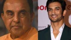 Sushant Singh Rajput Case Update: Subramanian Swamy Jumps in to Appoint Advocate For CBI Inquiry