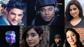 Remembering Sushant Singh Rajput: AR Rahman Shares Glimpse of Dil Bechara Musical Tribute, Shreya Ghoshal, Sunidhi Chauhan, Mohit Chauhan, Arijit Singh And Many More Join