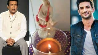 Sushant Singh Rajput One Month Death Anniversary: Shekhar Suman Lights a Lamp For The Late Actor