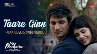 Sushant Singh Rajput's Second Song 'Taare Ginn' From Dil Bechara to Release Tomorrow, Watch Teaser Here
