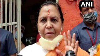 बाबरी विध्वंस पर फैसले से पहले बोलीं उमा भारती- राम मंदिर के लिए हर सजा भुगतने को तैयार