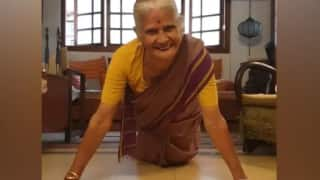 'Fit & Fabulous': Milind Soman's Mother Rings in 81st Birthday with 15 Pushups, Netizens in Awe of Her Fitness