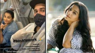After Taapsee Pannu, Vidya Balan Resumes Work After 3 Months Amid Covid-19 Pandemic