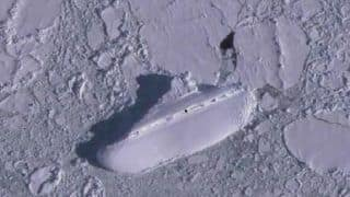 Google Earth User Spots Mysterious '400-Foot Ice Ship' Off The Coast Of Antarctica, Sparks Conspiracy Theories