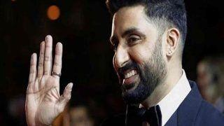 कोरोना टेस्ट निगेटिव होने के बाद अभिषेक बच्चन पहुंचे घर, अमिताभ का रिट्वीट-welcome home Bhaiyu