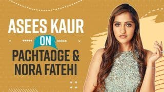 Asees Kauron Singing Female Version of Pachtaoge Featuring Nora Fatehi