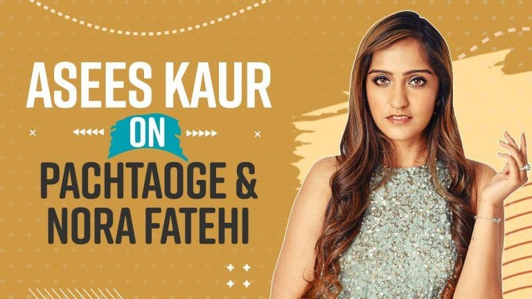 Asees Kaur  on Singing Female Version of Pachtaoge Featuring Nora Fatehi