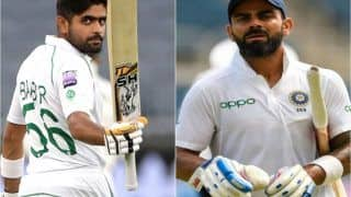 ICC Test Rankings 2020: Virat Kohli Static at Second Spot, Babar Azam Re-enters Top-5 in Batsmen's Tally