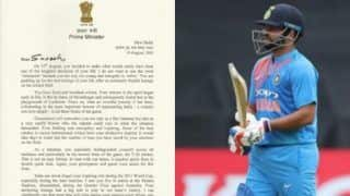 प्रधानमंत्री ने सुरेश रैना को लिखा पत्र; कहा- आपके लिए संन्यास शब्द का प्रयोग नहीं करना चाहता
