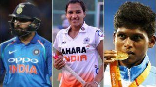 राष्ट्रीय खेल दिवस: पहली बार 'वर्चुअली' सम्मानित किए गए खिलाड़ी; रोहित और इशांत शर्मा नहीं हो सके शामिल